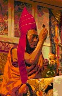His Eminence, Khenchen Palden Sherab Rinpoche