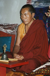 pictures of meditation from Rev Dr Nancy's collection: His Eminence, Khenchen Palden Sherab Rinpoche