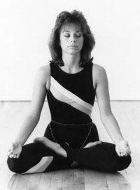 yoga breathing techniques photo from Rev Nancy's collection (photo of the author)