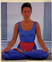 Kriya Yoga Technique Photo of Nancy Ash by David Campione from the Private Collection of Rev Nancy
