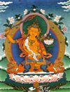 Buddhism beliefs Manjushri Thangka from Rev Nancy's Collection