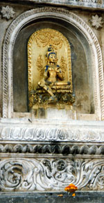 Buddhist Beliefs Tara photo, Bodgaya, India from Rev Nancy's personal collection