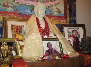 His Eminence, Khenchen Palden Sherab Rinpoche from the Shrine of Jonathan and Nancy Ash (2010)