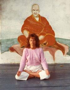 Photo of the author; types of meditation photo from Rev Dr. Nancy's collection