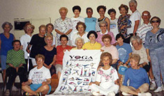 basic yoga poses (yoga for seniors) from Rev Nancy's collection